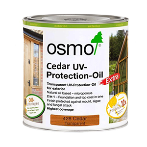 Osmo Cedar UV-Protection Oil 0.75 Litre