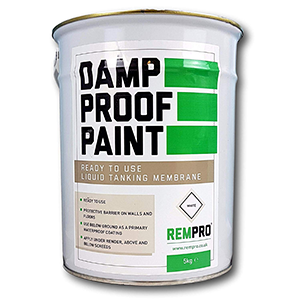 Rempro Damp Proof Paint 5kg White