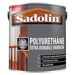 Sadolin Polyurethane Extra Durable Varnish Clear Matt 1 L