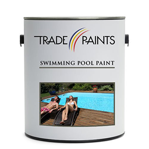 Trade Paints Swimming Pool Paint Mermaid Blue 5 Litre for concrete pool