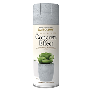 Rust-Oleum Natural effects Concrete Textured effect Matt Spray paint 400 ml
