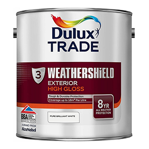 Dulux Trade Weathershield Wood Gloss High Gloss Solvent-based Exterior