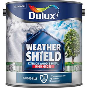 Dulux Weathershield Oxford Blue High Gloss 2.5L