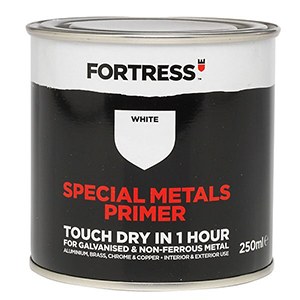 Fortress Special Metals Primer White waterbased