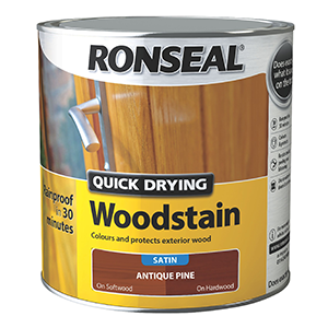 Ronseal Woodstain Antique Pine Satin 2.5L
