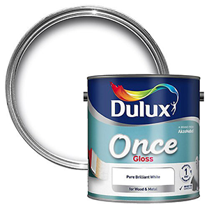Dulux Once Gloss Wood & metal paint – Solvent-based – Interior